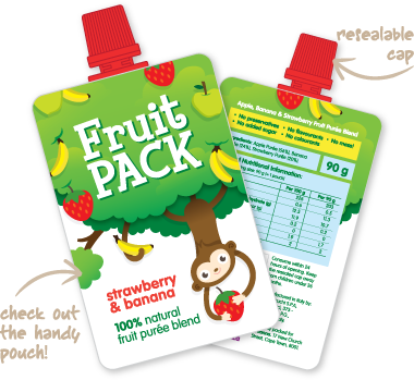 Fruit Pack - Strawberry & Banana